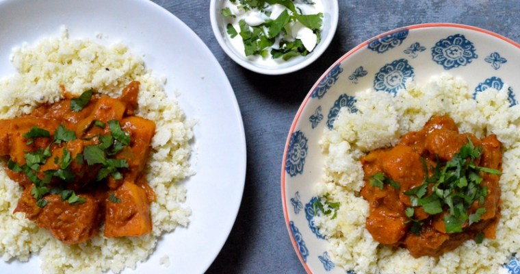 Butternut Squash and Almond Butter Curry