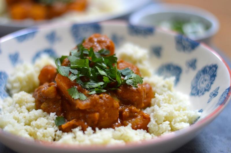paleo vegan butternut squash curry