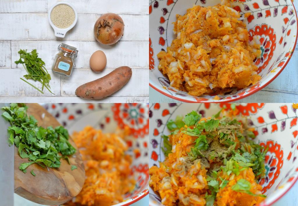 sweet potato sesame snack