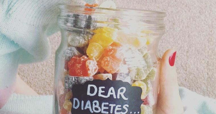 Dear Diabetes…
