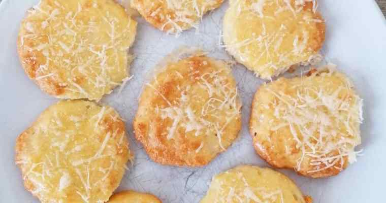 Parmesan Puffs and Pizza