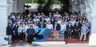 Vertex is our A round investor, also our co-founder