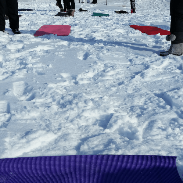 Ever wondered what it would be like to do yoga outside in the snow? The Fire & Ice Yoga Festival at Fort Whyte Alive made Winnipeggers feel the burn - even in -40