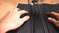 10 Double stitch pleats 2