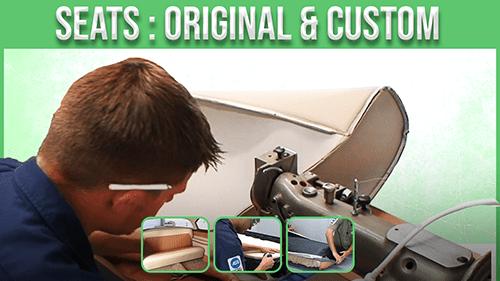seat: original and custom course