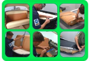 Pictures from the Seats: Original & Custom Course Upholstery DVD