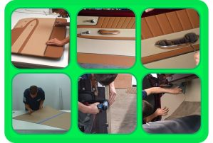 Pictures from Door Panels & Kick Panels Course Upholstery DVD