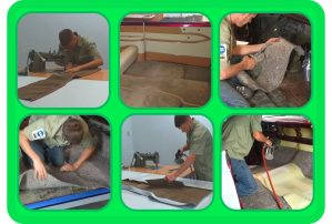 Pictures from Custom Carpet & Firewalls Course Upholstery DVD