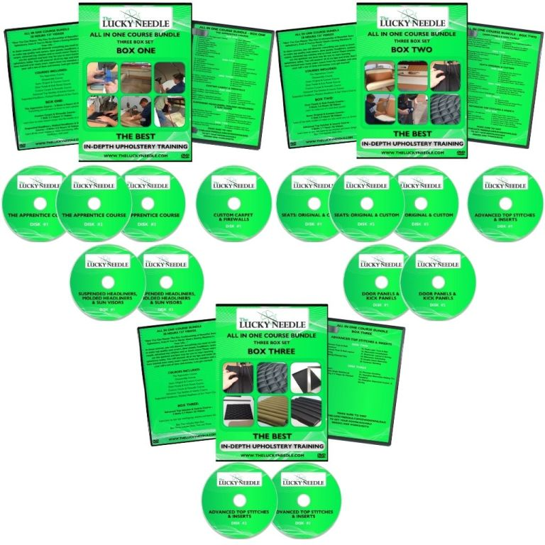 All in One Course Upholstery Training DVD