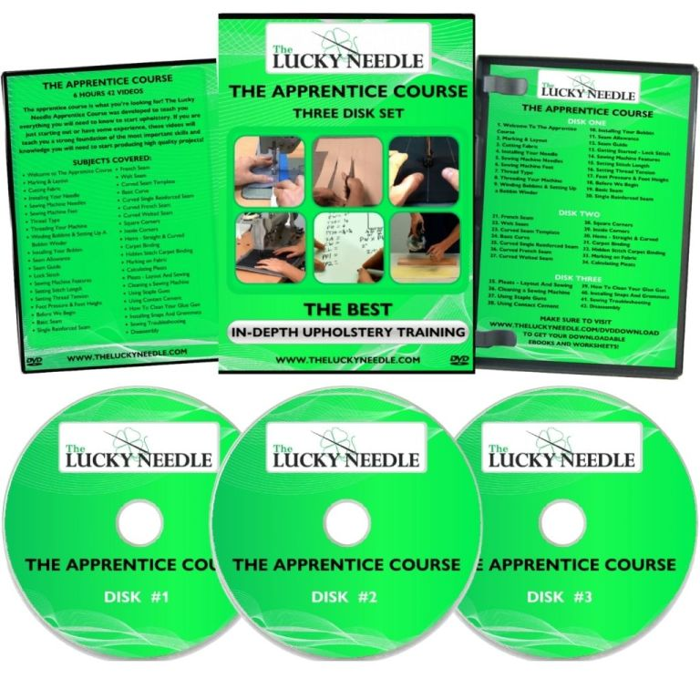 The Apprentice Course Upholstery Training DVD