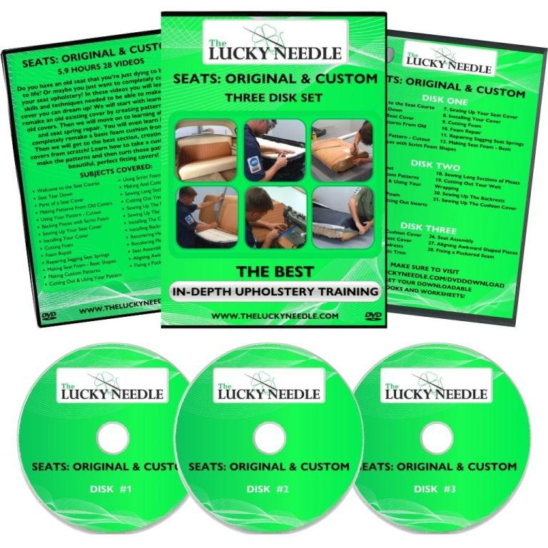 Seats: Original & Custom Course Upholstery Training DVD