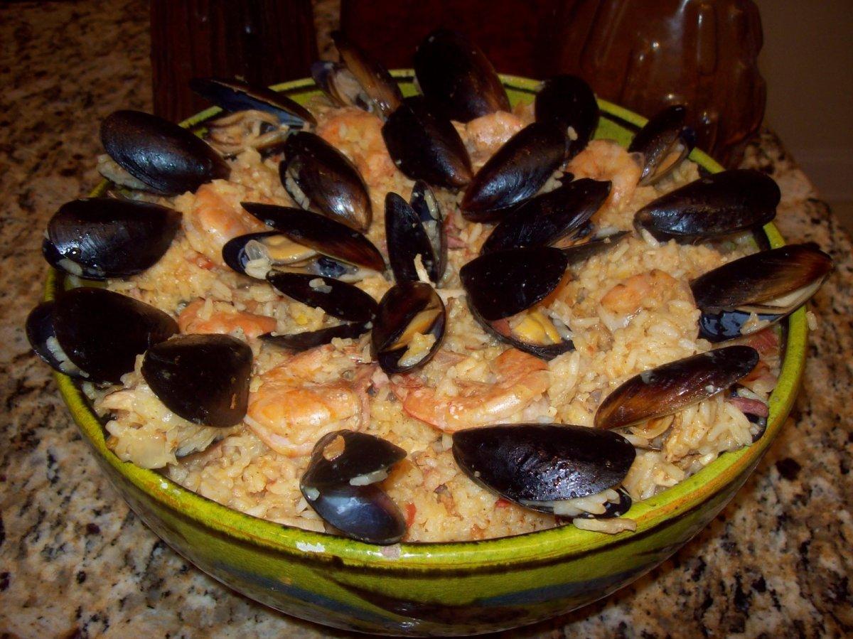 Recipe: Paella de Marisco