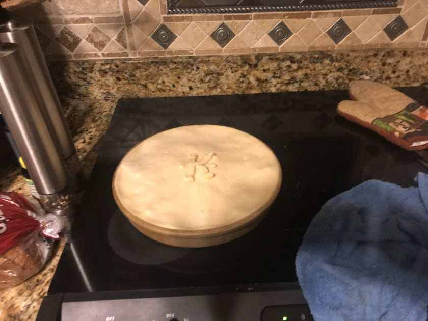 Chicken Pot Pie uncooked www.theluckywife.life