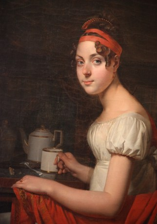 Martin Drölling, Portrait of this daughter Adéone_(detail)
