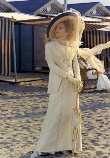"""Silvana Mangano - """"Morte a Venezia"""" - Regia Luchino Visconti -1971 - Copyright Mario Tursi, archivio storico del Cinema"""