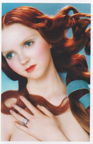 Lily Cole for DeBeers