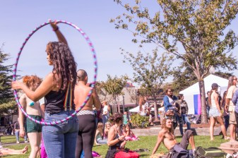 Humboldt Pride took place at the Arcata Plaza on Sept. 24. | Kyra Skylark