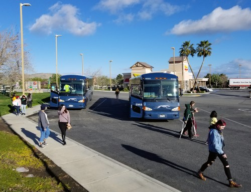 Students Bused Back to HSU Met with Mixed Messages