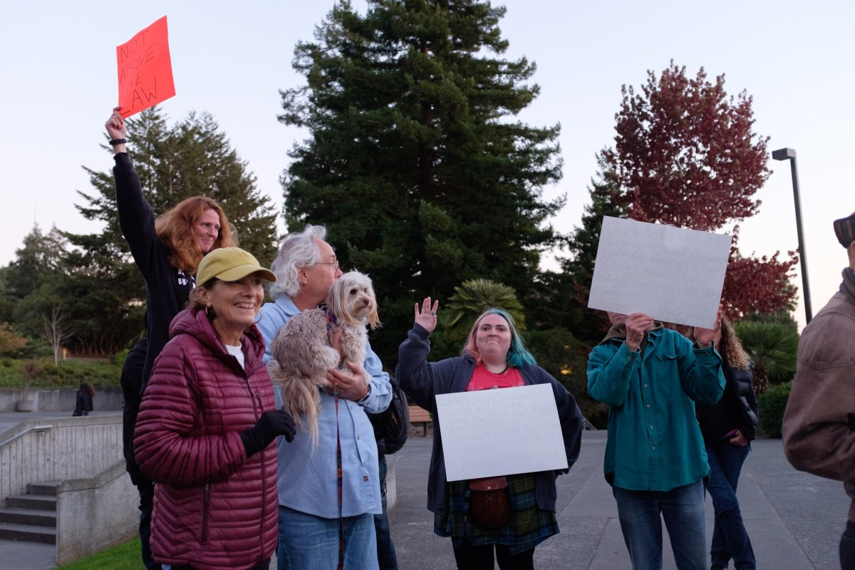 Protesters demand Whittaker's recusal