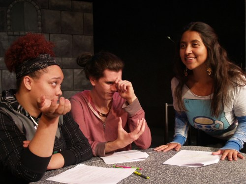 Students present the Margaret Kelso short play festival