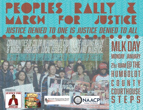 People's Rally and March For Justice on MLK Day