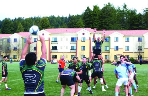 HSU men's Rugby team