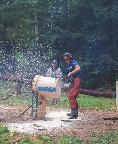 Lumberjacks Host Logtoberfest
