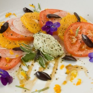 Indian Summer Tomato, Orange & Sweet Onion Salad