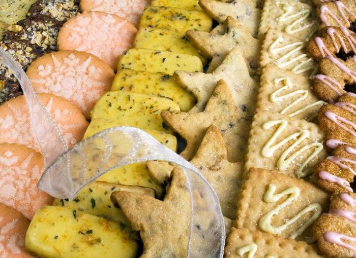 Twelve Days of Christmas Cookies: Starry Night