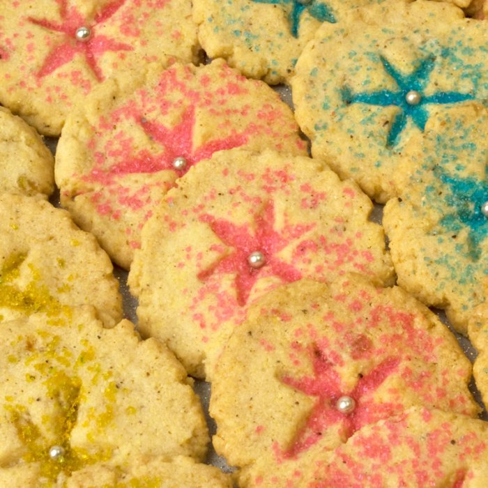 Garam Masala and Candied Ginger Cookies