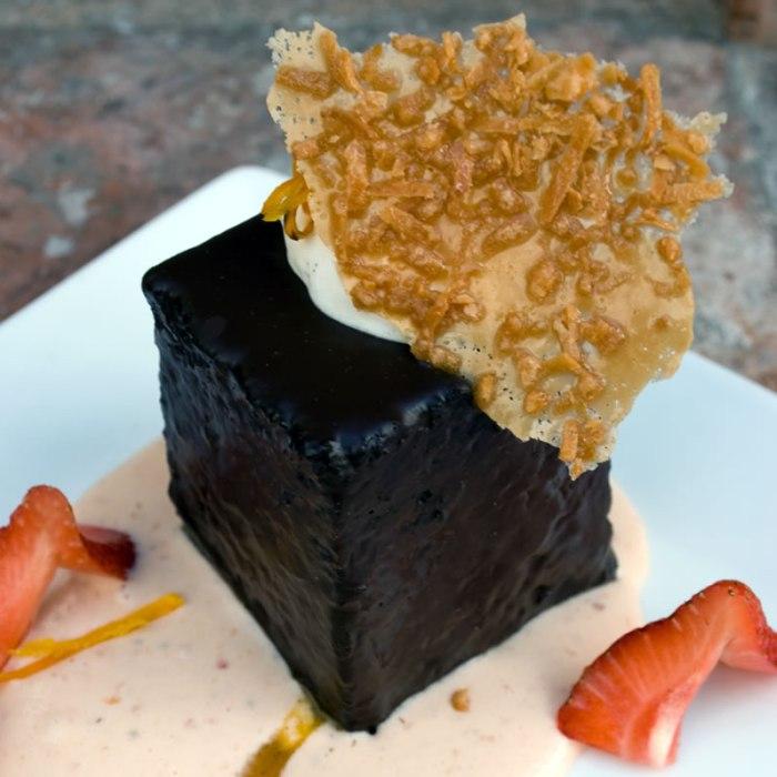The Mission Chocolate Manzano Cake