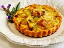 Caramelized Apple, Onion, Cheddar & Blue Cheese Tart