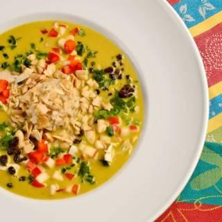 Spicy, Creamy Mulligatawny Soup