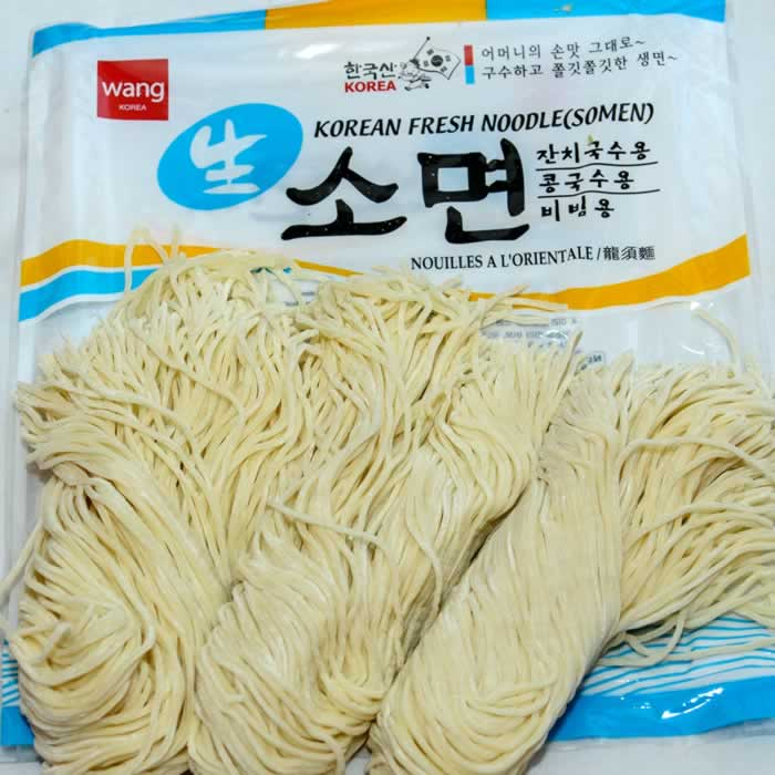 Korean Fresh Somen Noodles