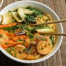 Korean Spicy Noodle Soup- (Jjambbong)2