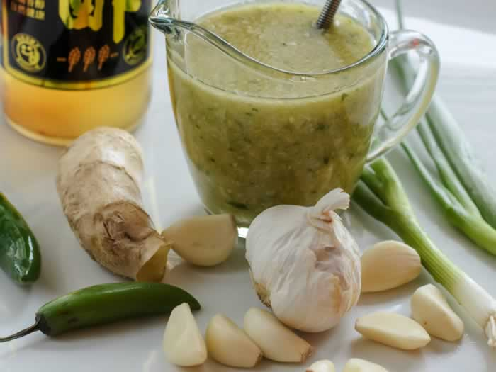 Ginger Lime Dressing Ingredients