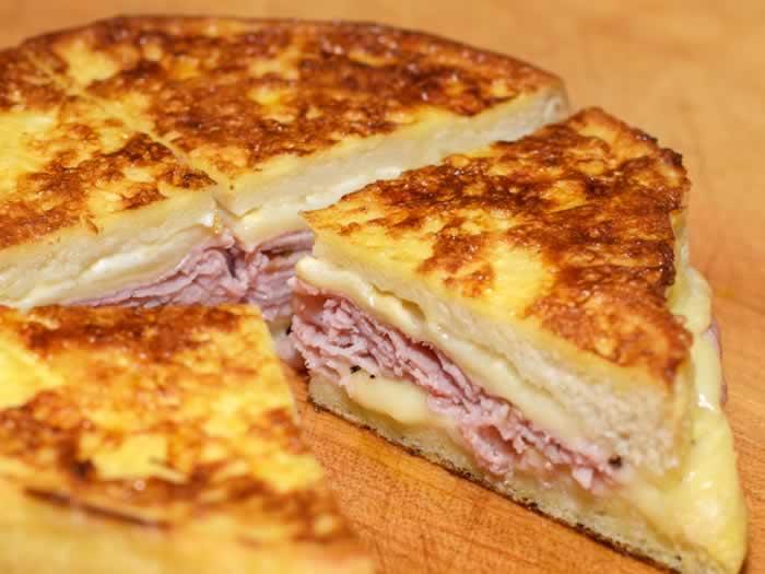Quartering Monte Christo Sandwich