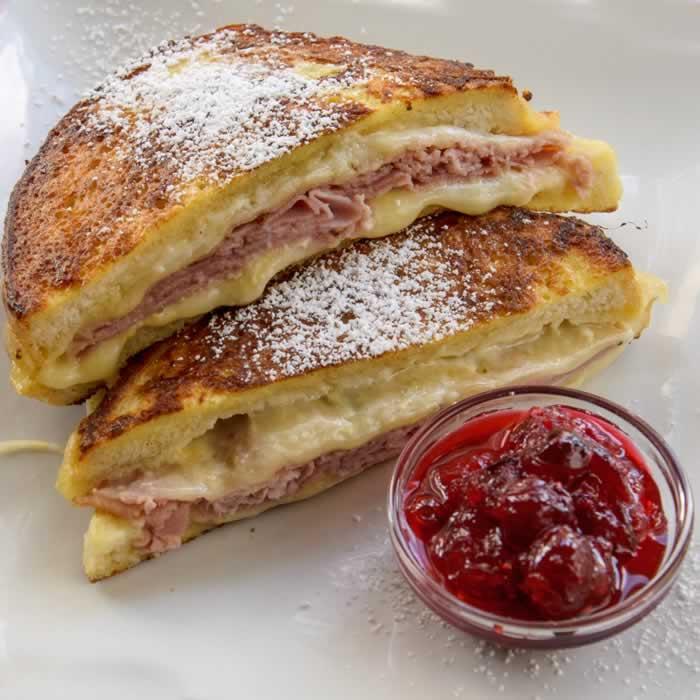 Monte Cristo Sandwich   LunaCafe