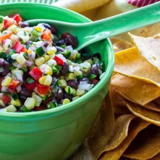 Sweet Corn & Black Bean Salsa