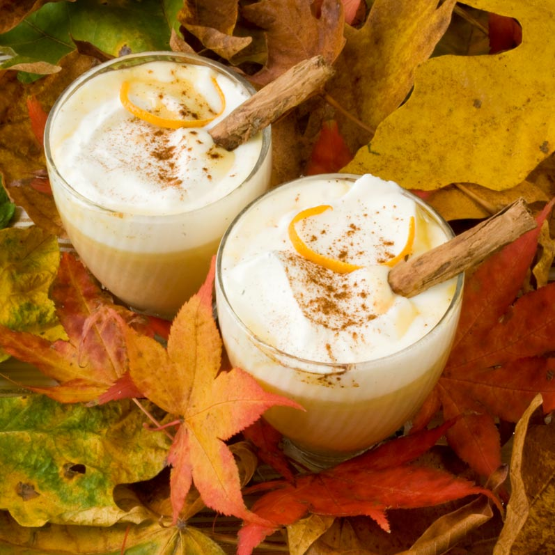 Thanksgiving Recipe Roundup: Pumpkin Spice Hot White Chocolate