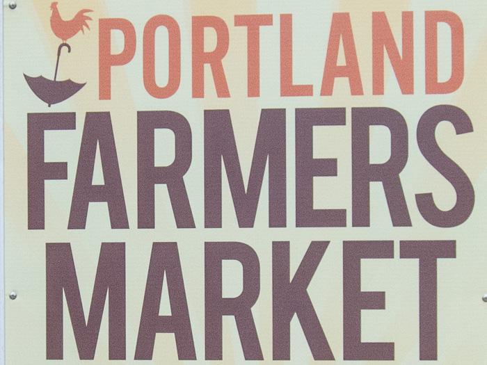 Portland Farmers Marker Opening Day 2014