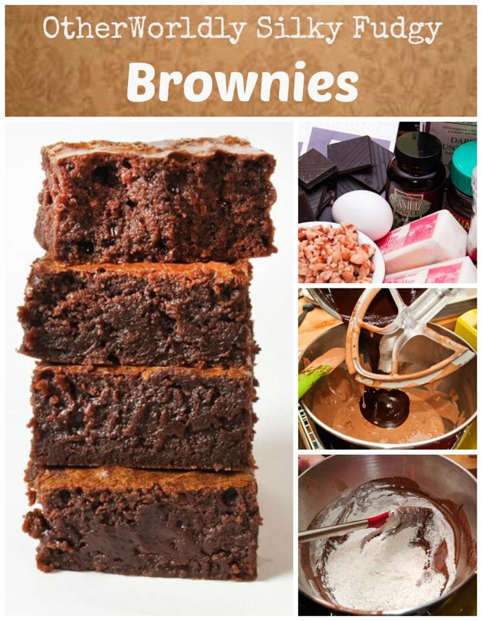 LunaCafe Otherworldly Silky Fudgy Brownies