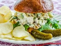 Autumn Chicken Salad Sandwich | LunaCafe