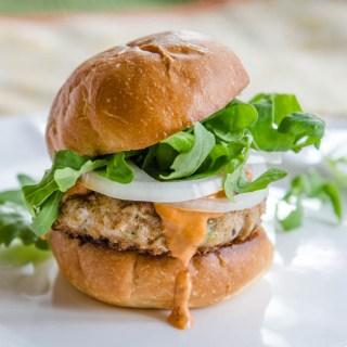 Albacore Tuna & Shiitake Mushroom Sliders
