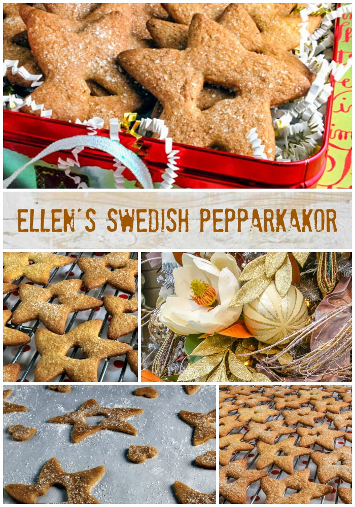 Ellen's Swedish Pepparkakor   LunaCafe