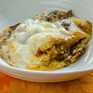 Christy Thompson's Porcini & Prosciutto Lasagna