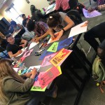 Art workshop with Favianna Rodriguez
