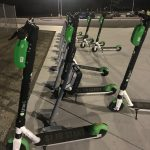 Lime scooters return after break