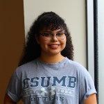 Samantha Chavez, Second Year Kinesiology major.