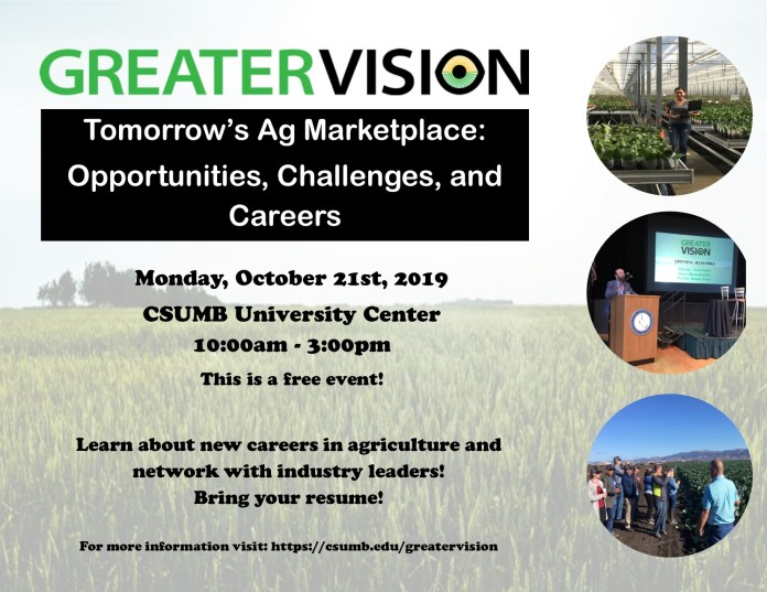 Oct21_College of Business_Greater Vision Tomorrow's Ag Marketplace_ Opportunities, Challenges, and Careers